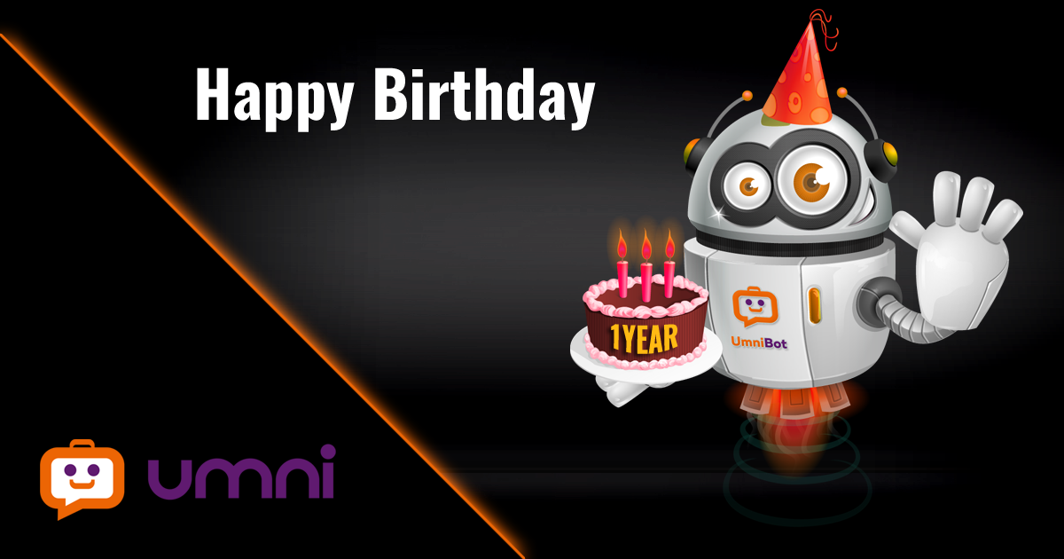 Umni turns 1 year – Happy Birthday