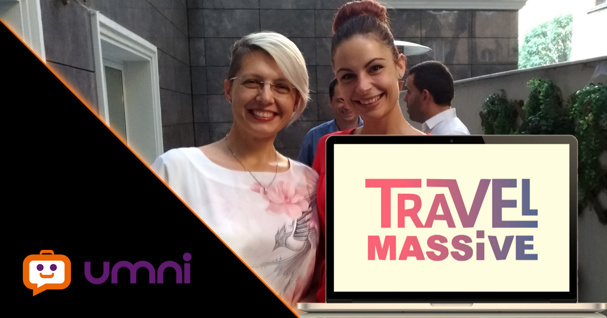 Umni гост на Travel Massive Sofia