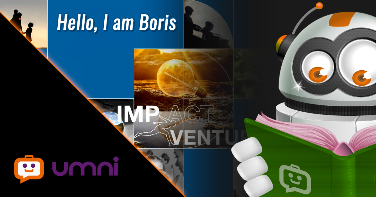 Umni's chatbot Boris was listed in Impact Ventures Mapping Report 2020