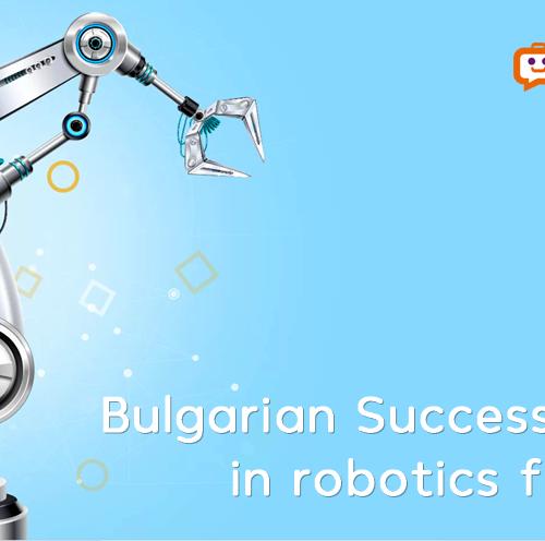 bulgarian success stories in robotics for 2020 report