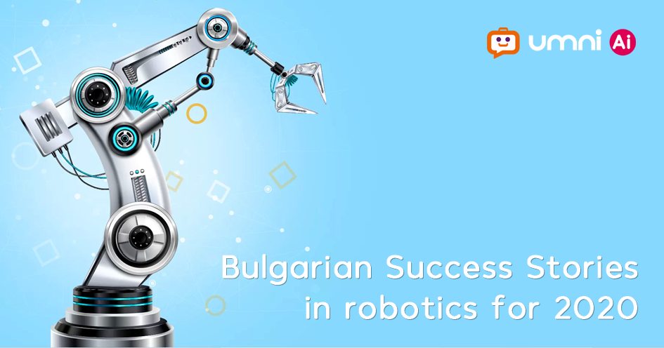 Umni with case study in Bulgarian Robotics Report'20