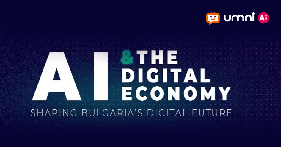 Umni with a speech about AI in tourism for the conference AI AND THE DIGITAL ECONOMY